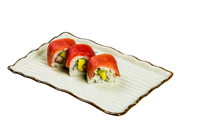 Inside out Maguro Roll